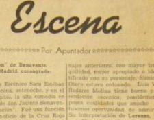 En la década de 1950 destacaban las críticas a las obras de teatro.  (Foto Prensa Libre: Hemeroteca Prensa Libre)
