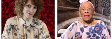 """Gaby Moreno y Omara Portuondo promocionan el tema """"Bolero a la Vida"""". (Foto Prensa Libre: Keneth Cruz / Omara Portuondo)"""