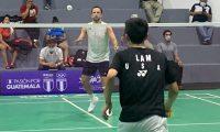 Kevin Cordón perdió en semifinales frente al canadiense Jason Ho-Shue. (Foto FedeBádminton).