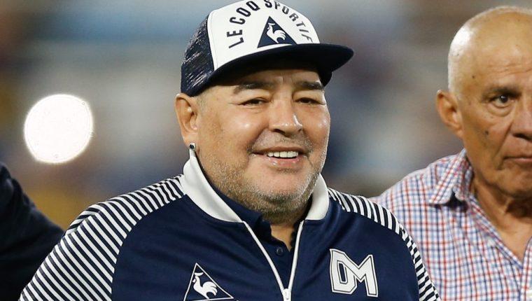 Diego Maradona falleció el 25 de noviembre a los 60 años. (Foto Prensa Libre: AFP)