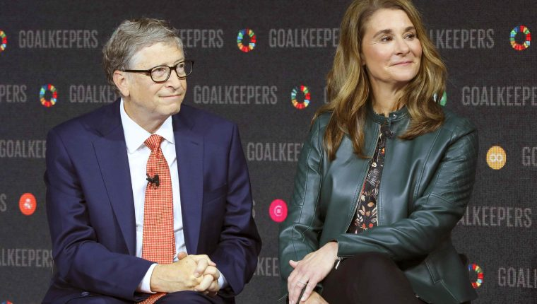 Bill y Melinda se divorcian luego de 27 años de matrimonio. (Foto Prensa Libre: AFP)