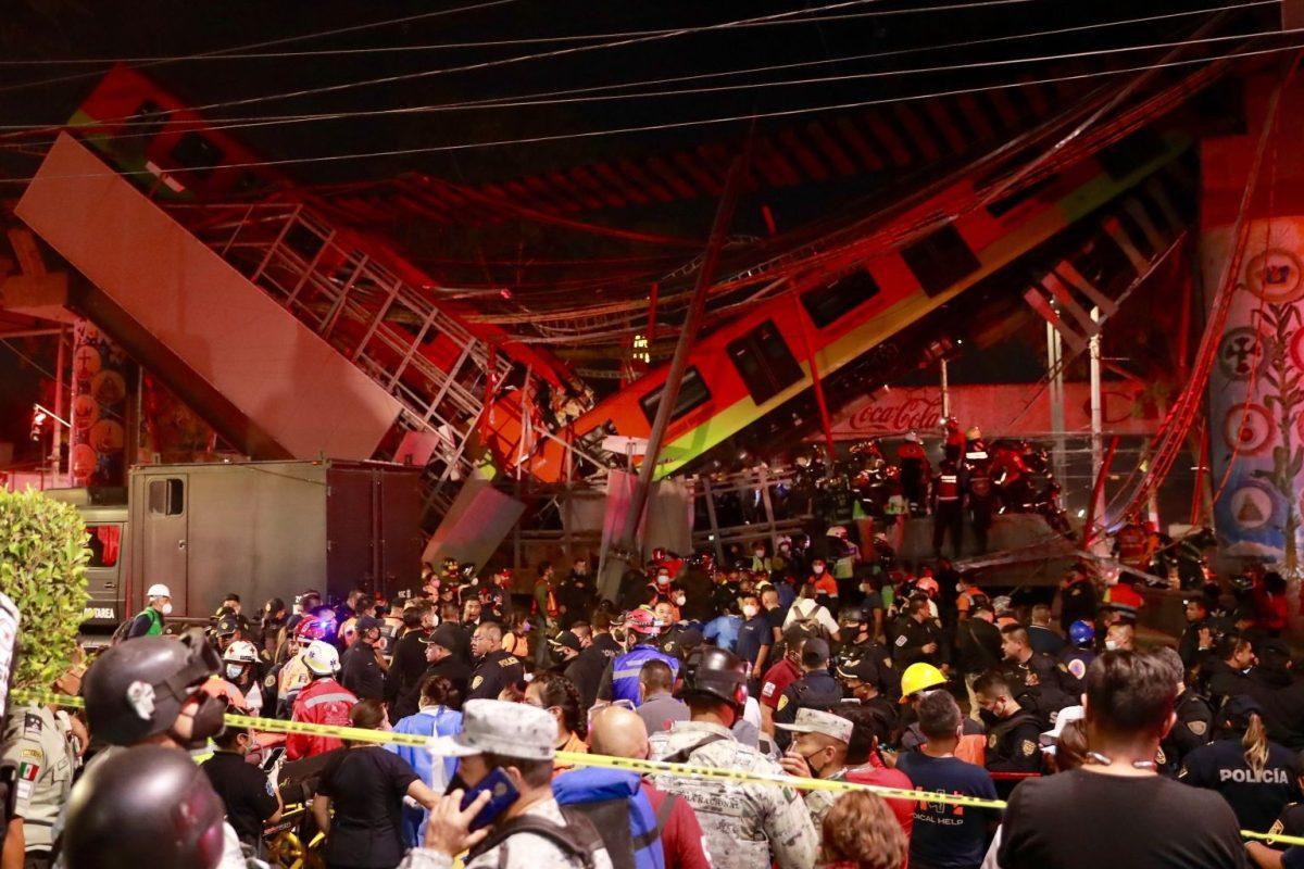 """""""Todo pasa en un minuto"""": conductor del metro que se desplomó en México habla luego de la tragedia"""