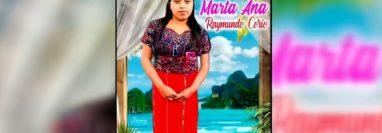 """Marta Ana Raymundo Corio, de 22 años, la migrante guatemalteca que murió en Texas, Estados Unidos, en búsqueda del """"sueño americano"""". (Foto Prensa Libre: Univisión)"""