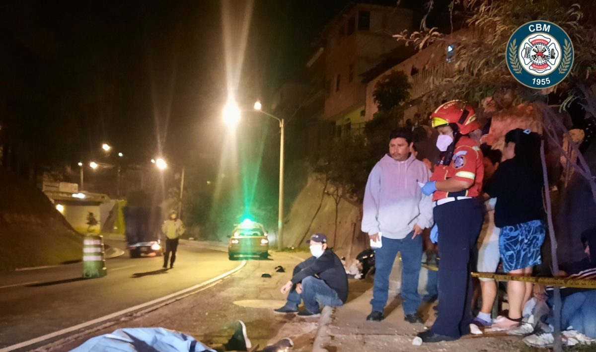 Video: Balacera en el Periférico deja un presunto asaltante muerto