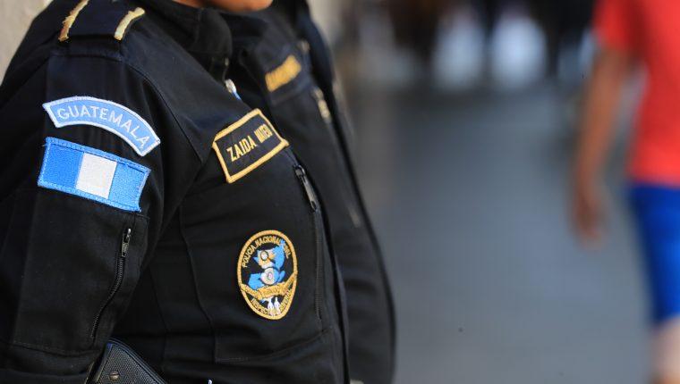 La Policía Nacional Civil mantiene constantes operativos con el apoyo del Ejército y otras instituciones. (Foto Prensa Libre: Juan Diego González)