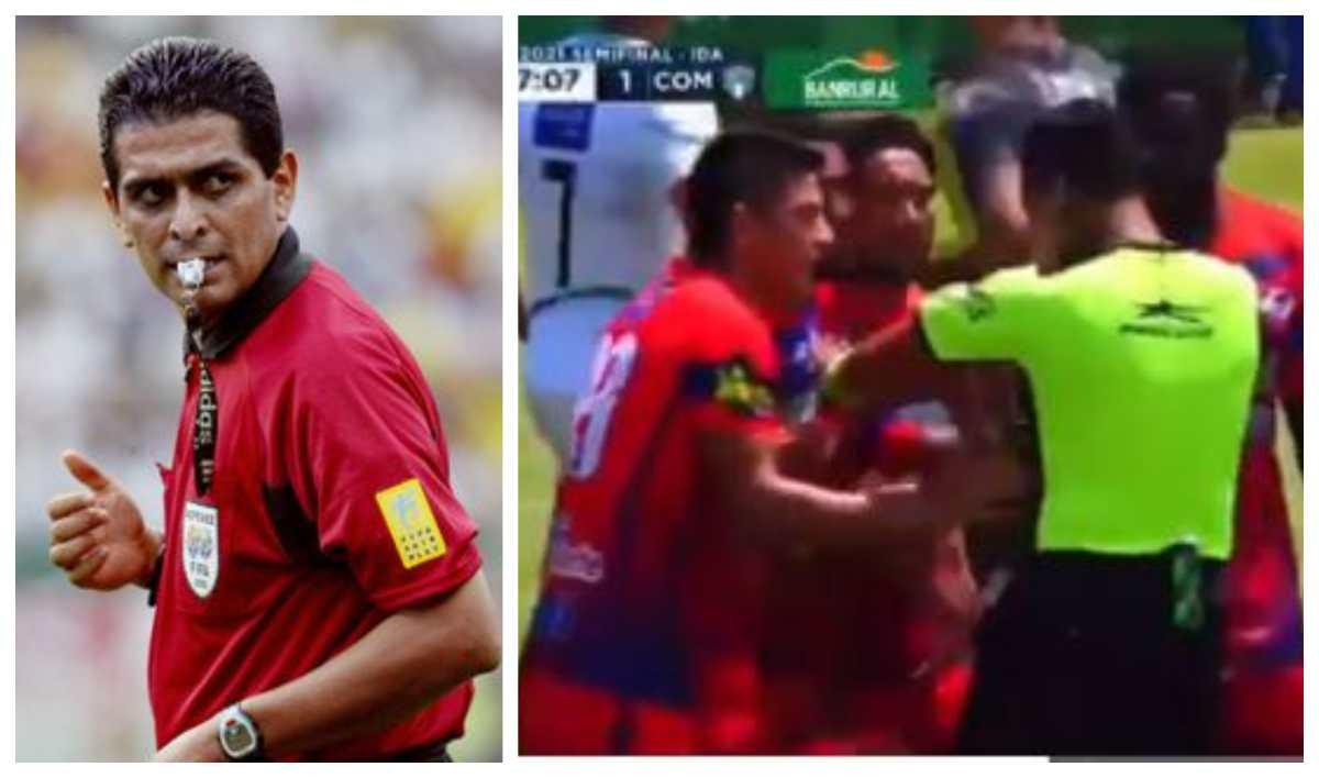 """""""¿Quién los capacita?"""": El mexicano Felipe Ramos Rizo critica el arbitraje del Iztapa 2-2 Comunicaciones y cuestiona a la Fedefut"""