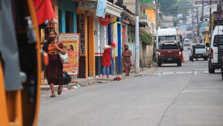 Hay varios departamentos, como Sacatepéquez, que son vigilados de cerca por su alta positividad. (Foto: Hemeroteca PL)