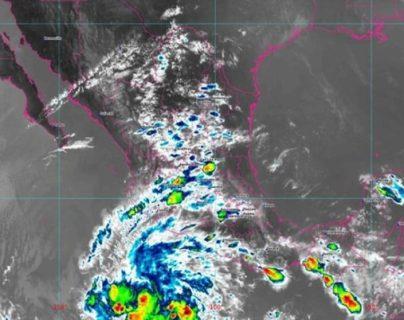 Tormenta tropical Andrés se forma frente a las costas del suroeste de México