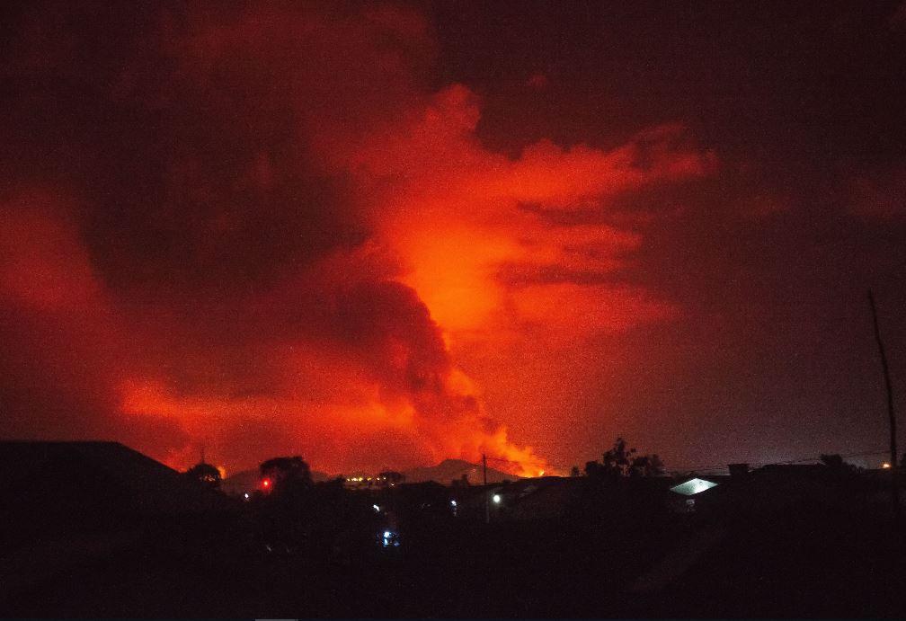 Las impresionantes fotos de la erupción del volcán Nyiragongo (las evacuaciones y el regreso a la calma)