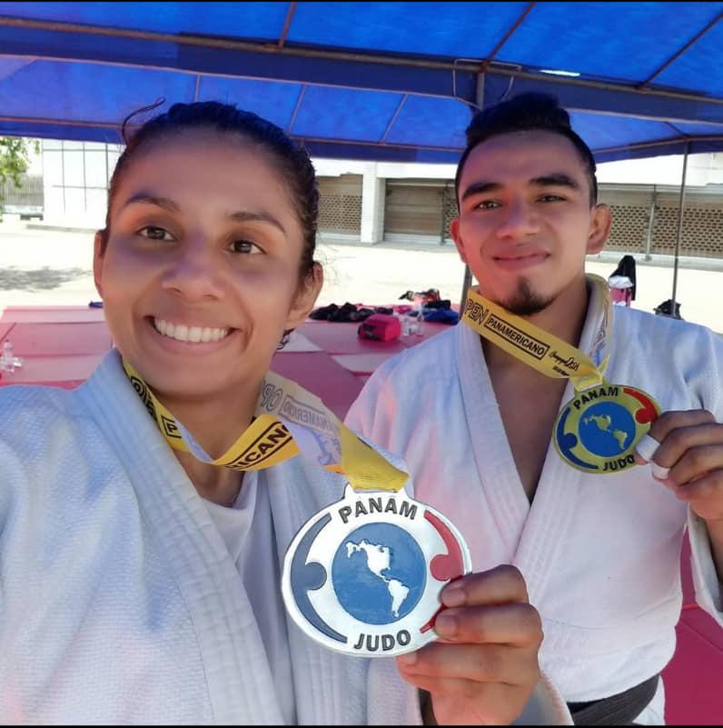 José Ramos y Jacqueline Solís brillan en el Open Panamericano de judo, en Guayaquil