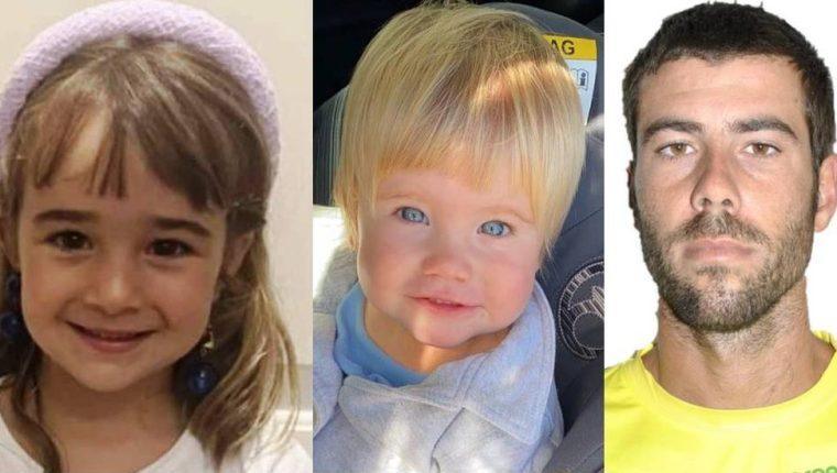 Olivia, Anna y Tomás Gimeno desaparecieron el 27 de abril en Tenerife, España. (SOSDESAPARECIDOS)