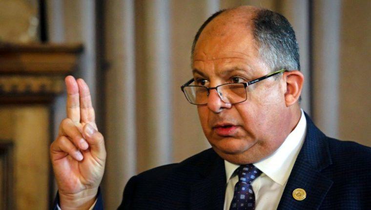 Luis Guillermo Solís fue presidente de Costa Rica entre 2014 y 2018.
