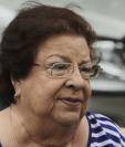 Vilma Núñez trabaja desde hace décadas en temas de derechos humanos en Nicaragua.