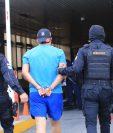 Marvin Alexander Morales Girón es reclamado por la Justicia de EE. UU. (Foto Prensa Libre: PNC)