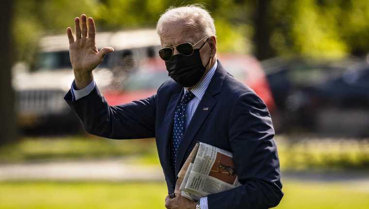Joe Biden, presidente de EE. UU. (Foto Prensa Libre: EFE)