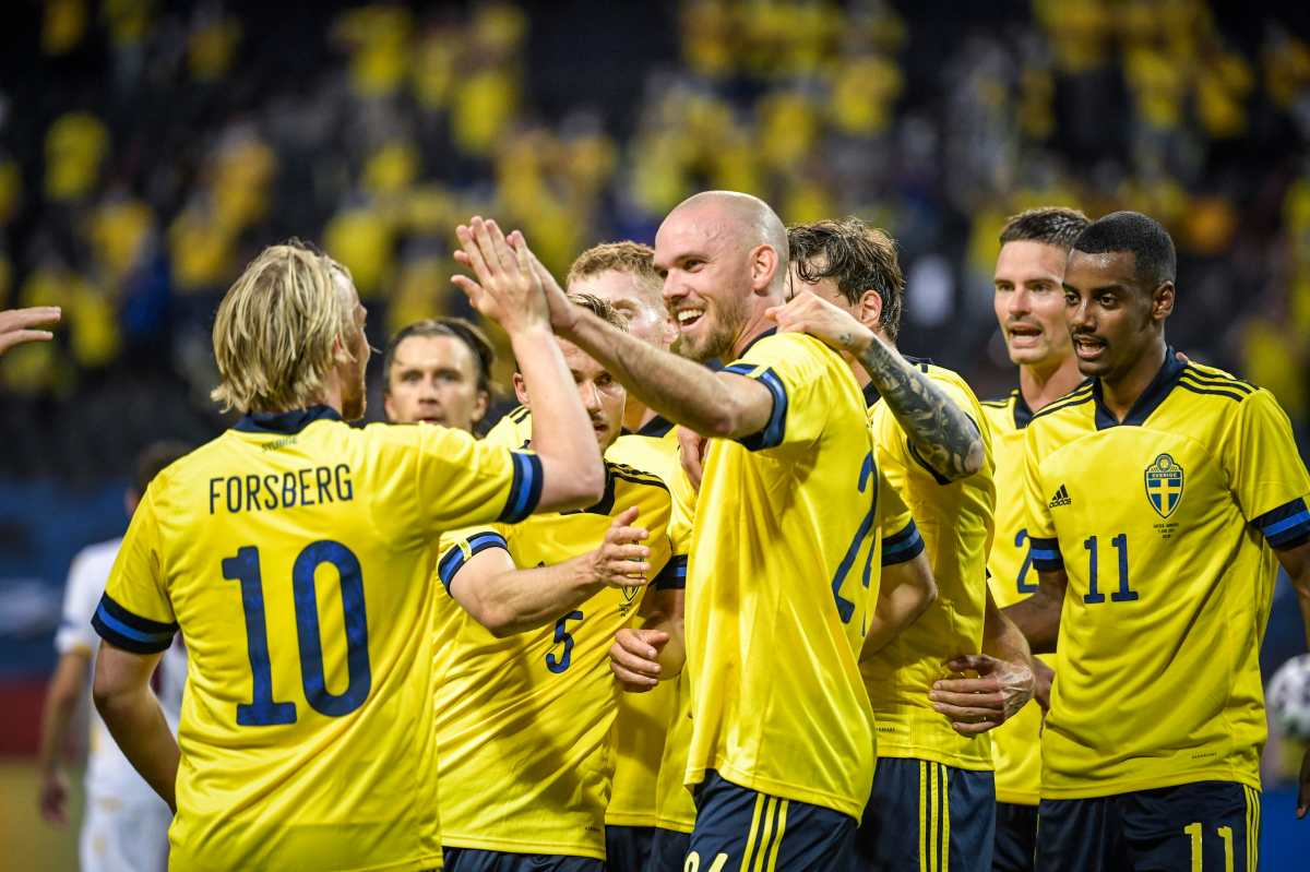 La Selección de Suecia supera con solvencia a una floja Armenia
