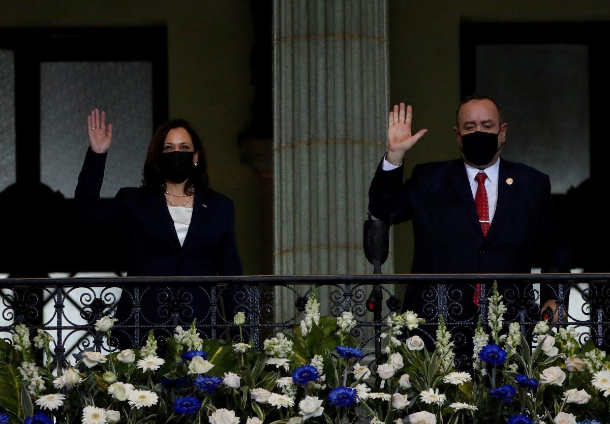 Kamala Harris en Guatemala: la crónica en imágenes de la visita de la vicepresidenta de Estados Unidos