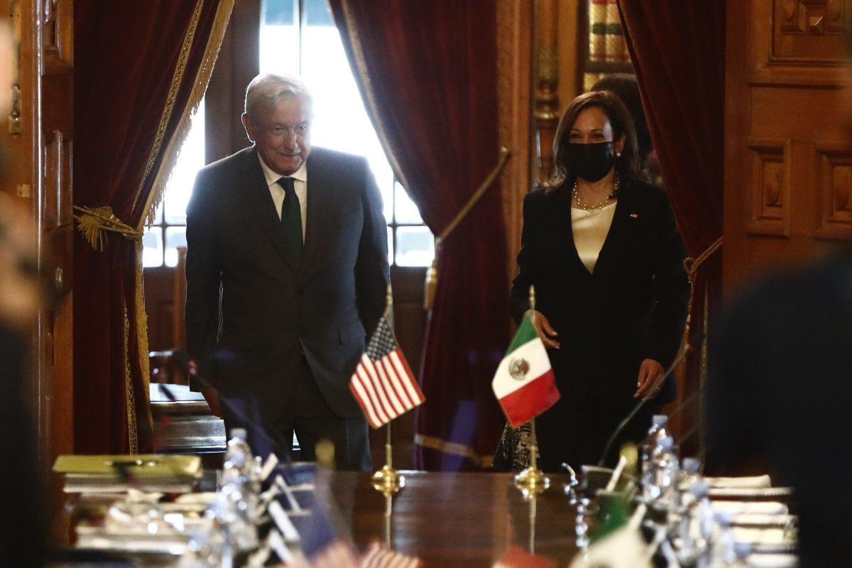 Kamala Harris y López Obrador acuerdan cooperación en seguridad, migración y comercio