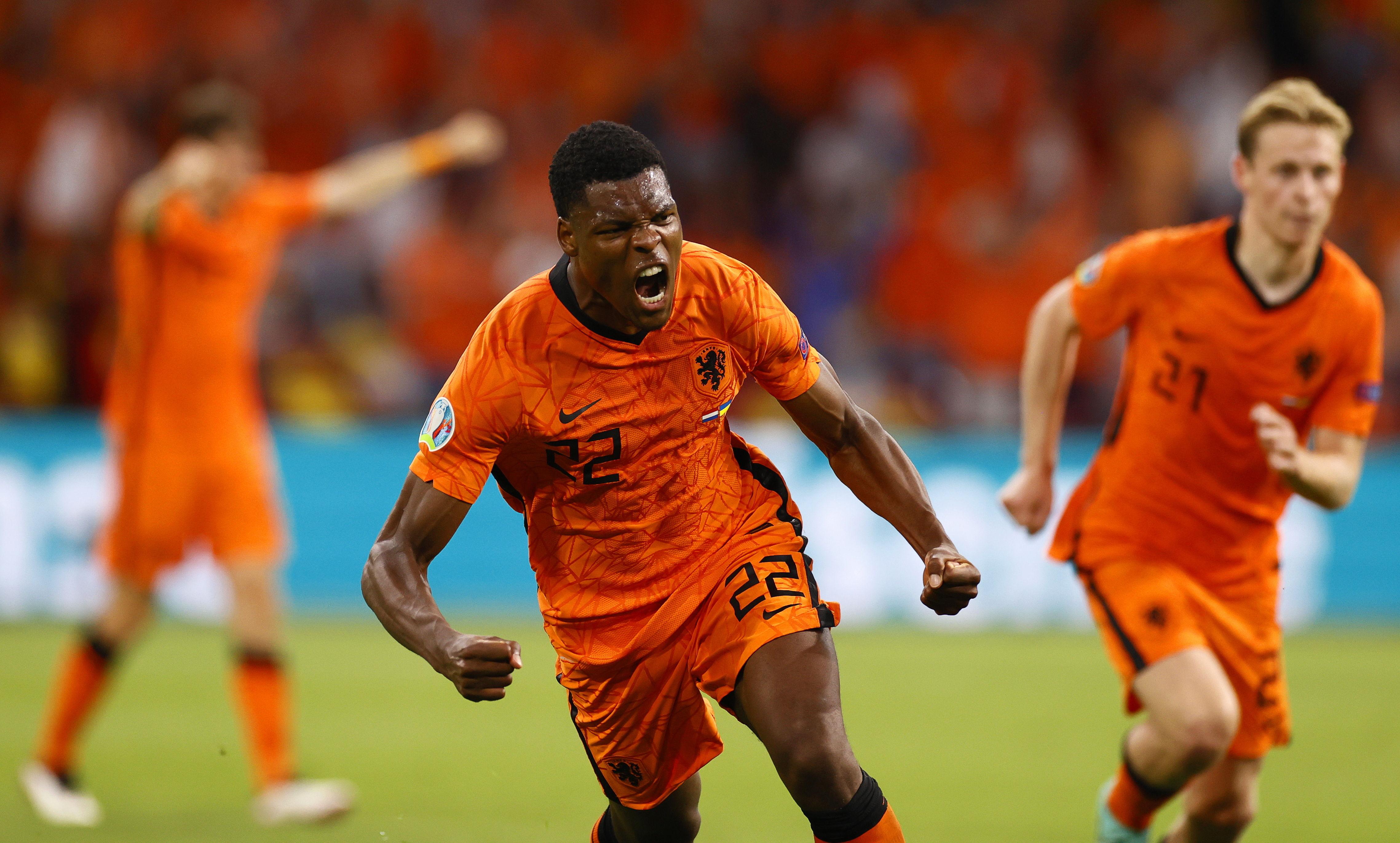 Holanda vence 3-2 a Ucrania en su debut en la Eurocopa – Prensa Libre