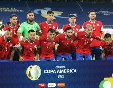La Selección de Chile habría roto la burbuja sanitaria para evitar el covid-19 en su concentración en Brasil. Foto Prensa Libre: EFE.
