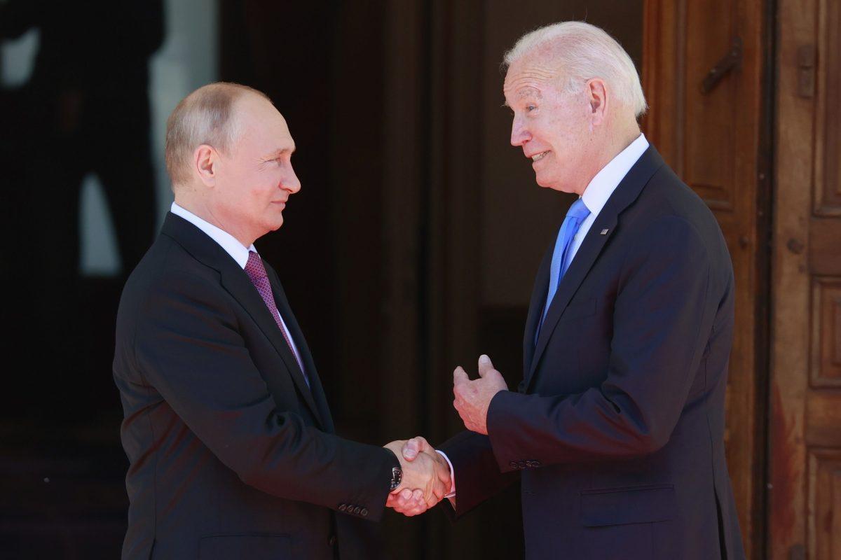 Video: Biden se confunde en la reunión con Putin y le cambia el nombre