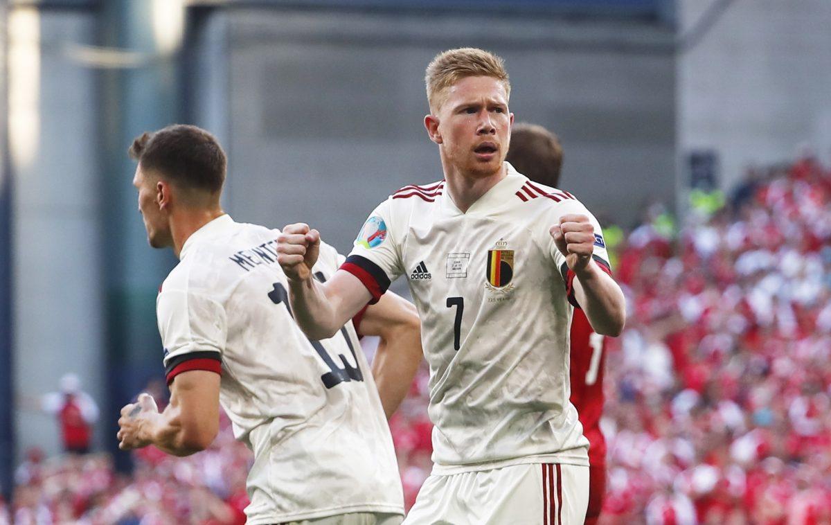 Kevin De Bruyne llega de la banca y guía a Bélgica para doblegar a una Dinamarca conmovedora