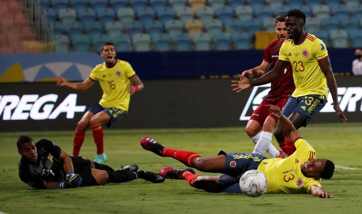 Colombia quiso, Faríñez no dejó y Venezuela deja primer empate sin goles