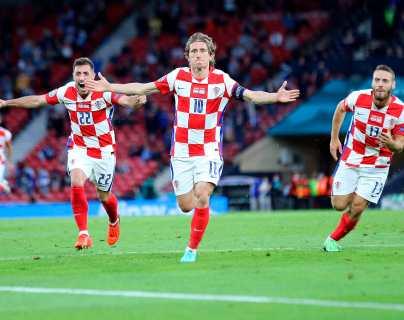 Luka Modric conduce a Croacia a los octavos en la Eurocopa 2021