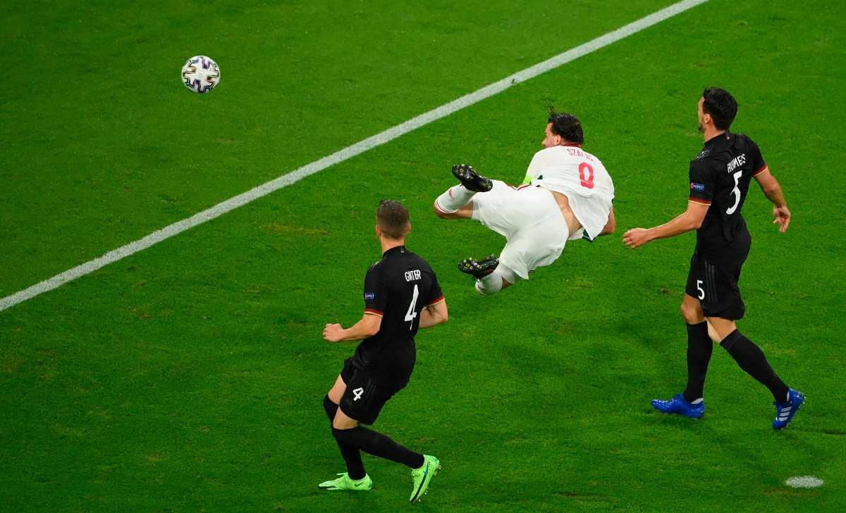 Leon Goretzka salva a Alemania en el minuto 83 de un desastre ante Hungría