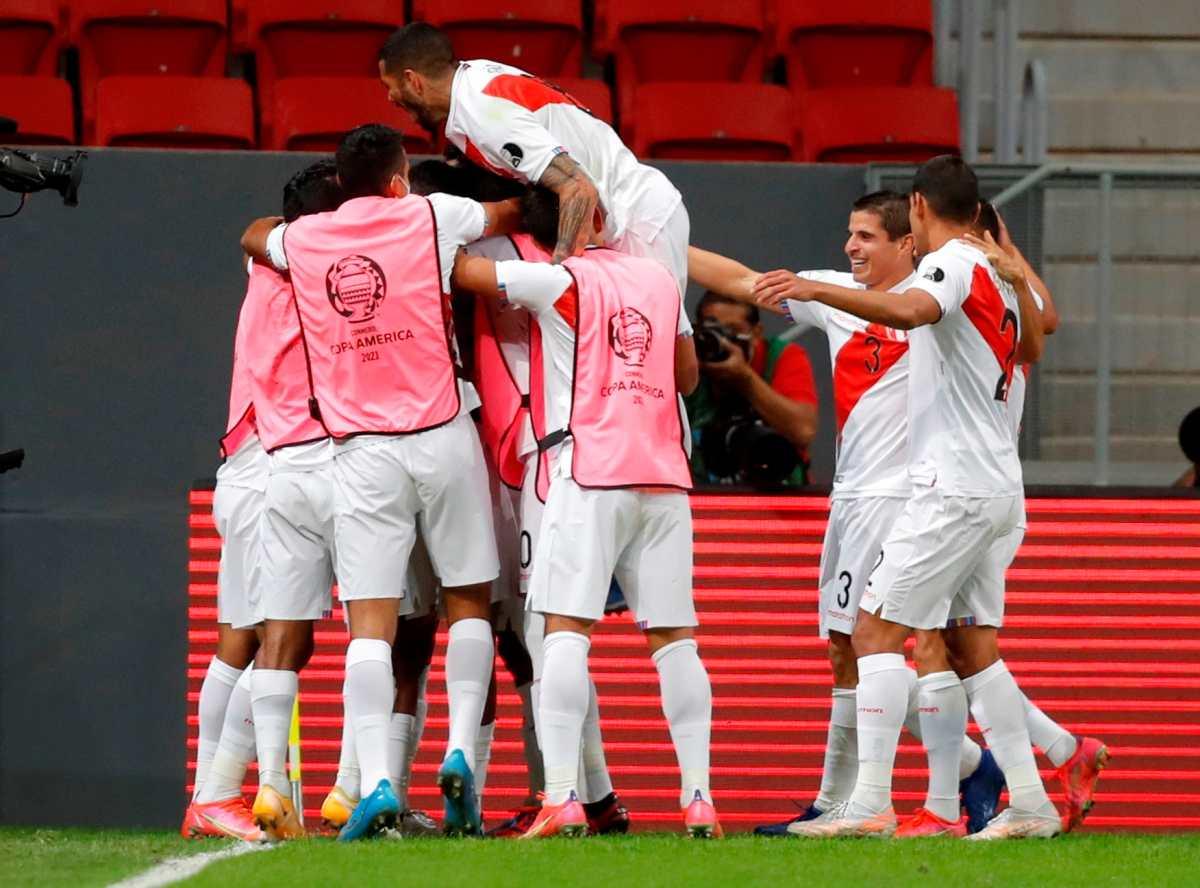 Perú gana a 1-0 a Venezuela y clasifica segundo a cuartos de final de la Copa América-2021