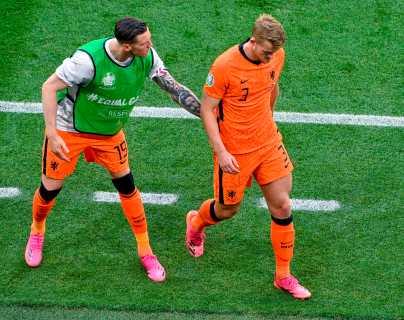 De Ligt se siente responsable de la eliminación de Países Bajos de la Eurocopa