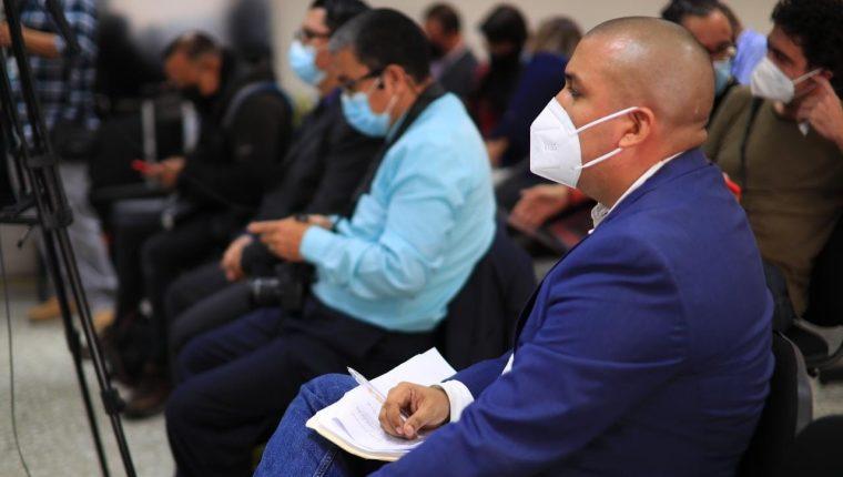 Juan Francisco Solórzano Foppa es investigado por el caso Política y Falsedad. (Foto Prensa Libre: Esbin García)