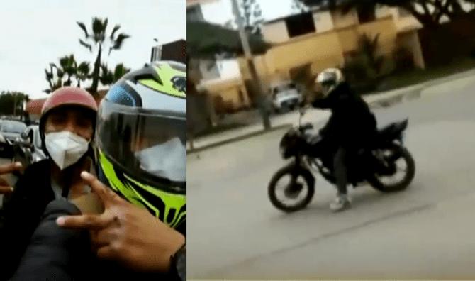 Video: la artimaña que usó un hombre para robarle la moto a otro sin necesidad de armas ni violencia