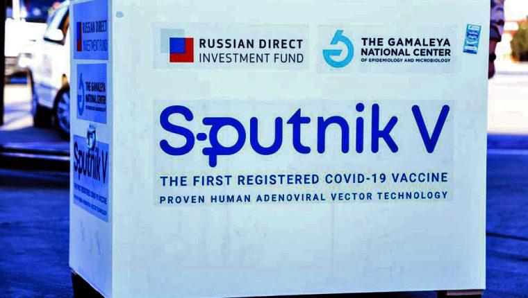 El Ministerio de Salud espera para la próxima semana un nuevo lote de vacunas Sputnik. (Foto Prensa Libre: AFP)