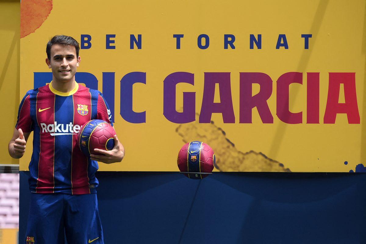 """Eric García: """"Cambiarme en el vestuario del Camp Nou es el final del camino"""""""