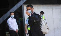 Cristiano Ronaldo arriba a Lisboa para integrarse a la Selección de Portugal que solventará la Copa América. (Foto Prensa Libre: AFP).