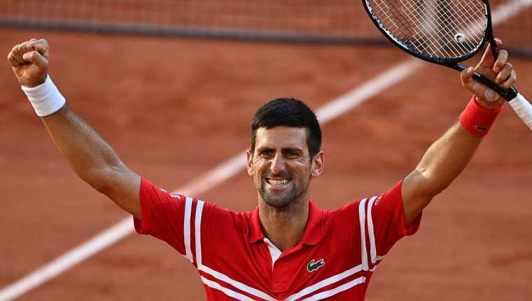 El serbio Novak Djokovic se consagra en Roland Garros. (Foto Prensa Libre: AFP)