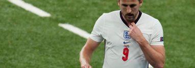 Harry Kane, delantero de Inglaterra. (Foto Prensa Libre: AFP)