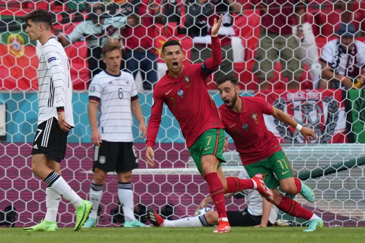 Cristiano Ronaldo marcó y asistió, pero Alemania superó 4-2 a Portugal y está más viva que nunca