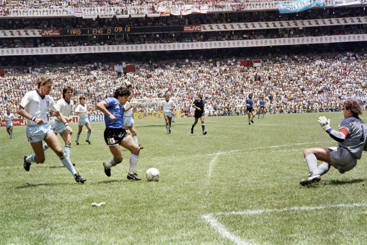 Argentina vuelve a gritar 35 años después el 'Gol del siglo XX' de Diego Armando Maradona