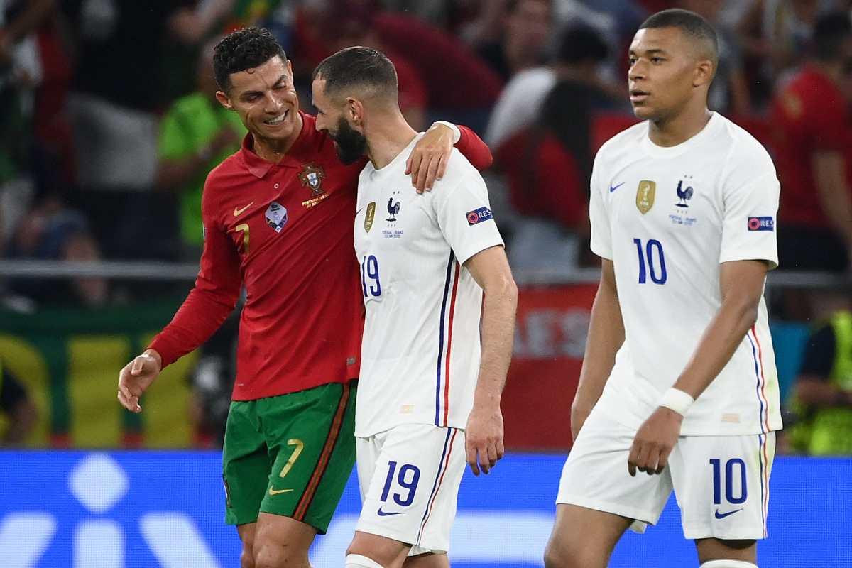 2-2. El pulso entre Cristiano Ronaldo y Karim Benzema deja a Portugal tercera