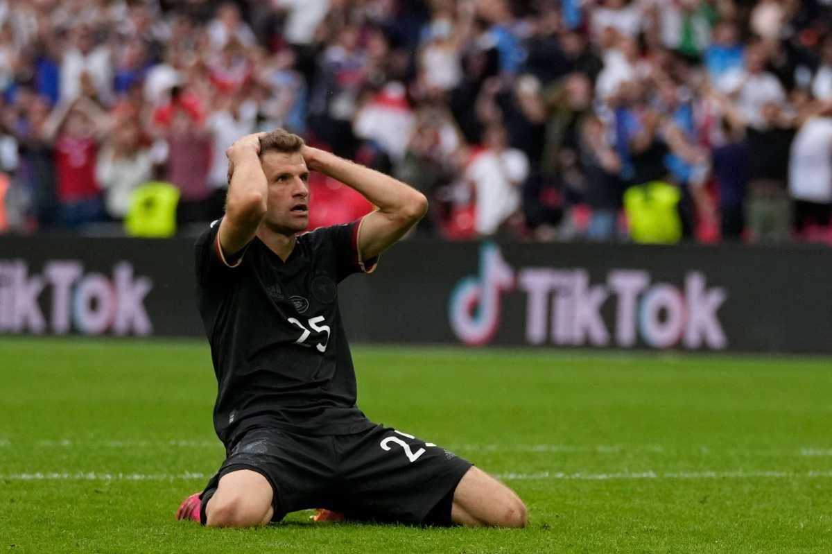 Thomas Müller y la jugada que pudo haberlo cambiado todo para Alemania ante Inglaterra