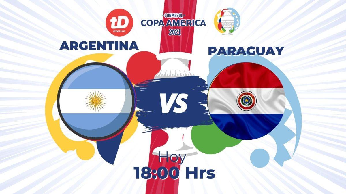 Estadísticas del partido de Argentina frente Paraguay