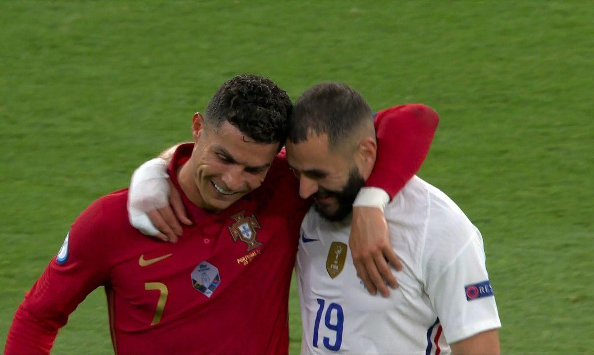 El especial reencuentro de Cristiano Ronaldo y Benzema en el duelo en que el portugués igualó el récord de Ali Daei