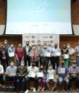 Los 28 representantes ganadores que participarán en la Cup Of Excellence 2021. (Foto Prensa Libre: Cortesía Anacafé)