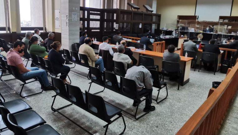 """Seis militares en situación de retiro son procesados en el caso """"Diario Militar"""". (Foto Prensa Libre: Edwin Pitán)"""