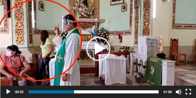 """""""Que Dios nos ayude"""": tiroteo interrumpe misa en México y feligreses claman por su vida"""