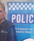 El hombre declaró haber dado muerte al tendero. (Foto: Policía).