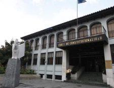 Corte de Constitucionalidad donde se resuelve este tema de la Feci. (Foto Prensa Libre: Hemeroteca PL)