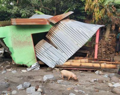 Desbordamiento de río deja destrucción y muerte en Santa Catarina Ixtahuacán